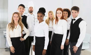 Catering and hospitality uniforms